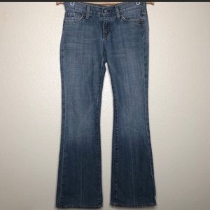 7 for all Mankind Bootcut Jeans Made in USA Sz 26